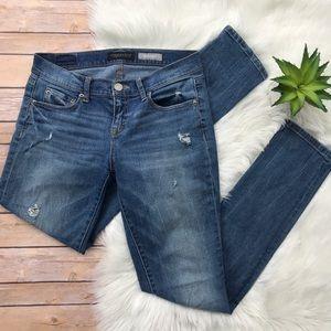 Aeropostale Skinny Distressed Medium Wash Jeans
